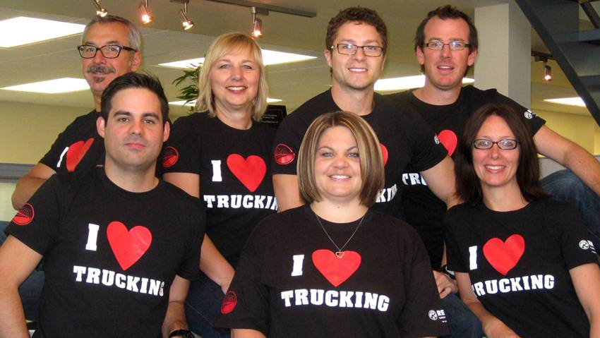 Proud Supporter of National Trucking Week