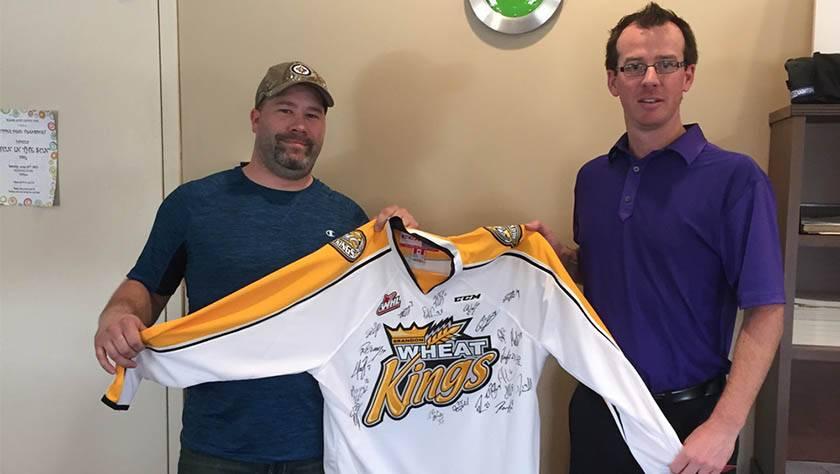 WHL Jersey Contest Winner – 2015