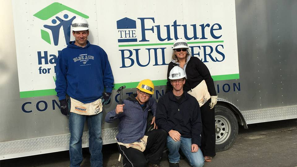 Habitat for Humanity Build 2015