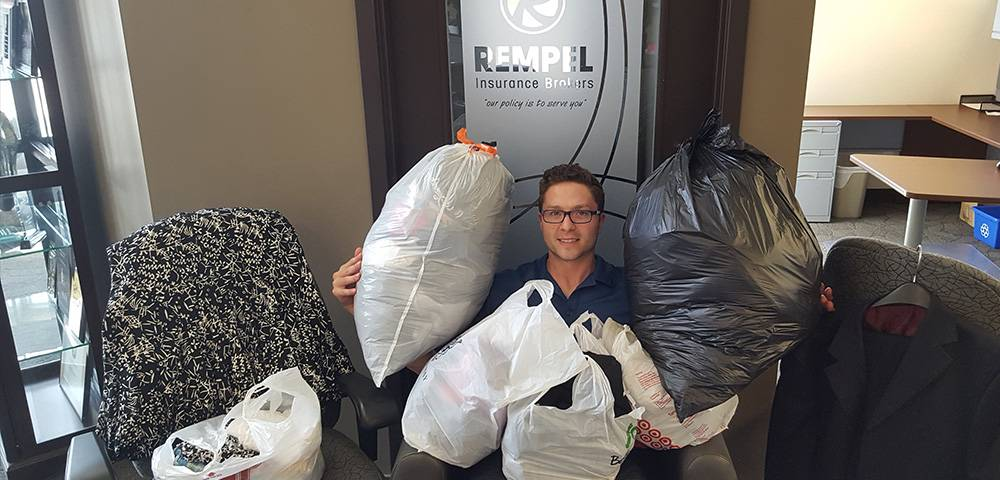 Rempel Supports YBN Clothing Drive
