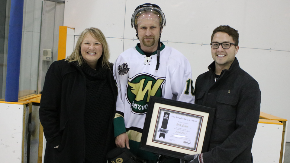 Dale Rempel Man of the Year Award