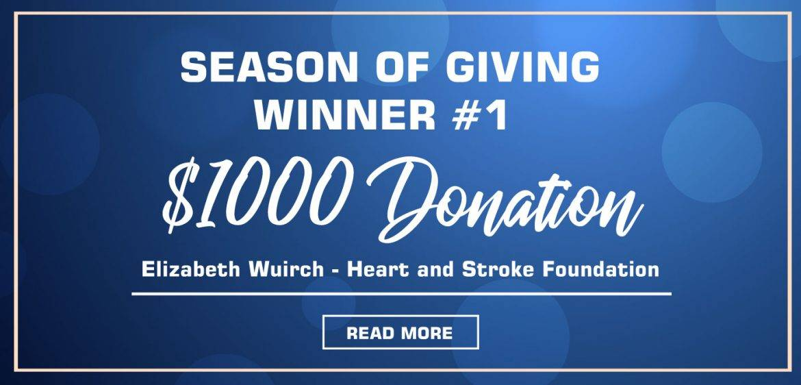 Season of Giving – Winner #1