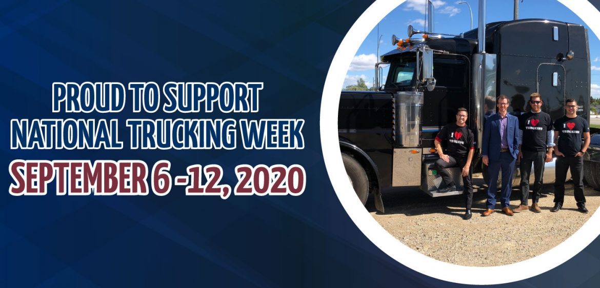 National Trucking Week – September 6 – 12, 2020